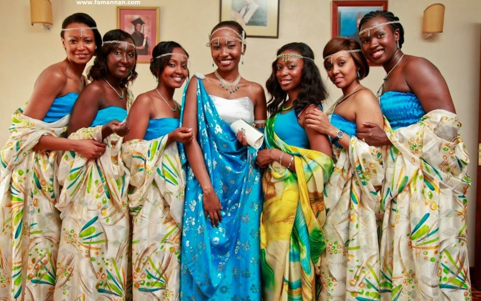 The dressing code in Uganda has evolved and has since then changed from traditions Musanana for women to short tightened light clothes as long as they do not cause locomotion and tension among the public. The traditional style of dressing code in Rwanda