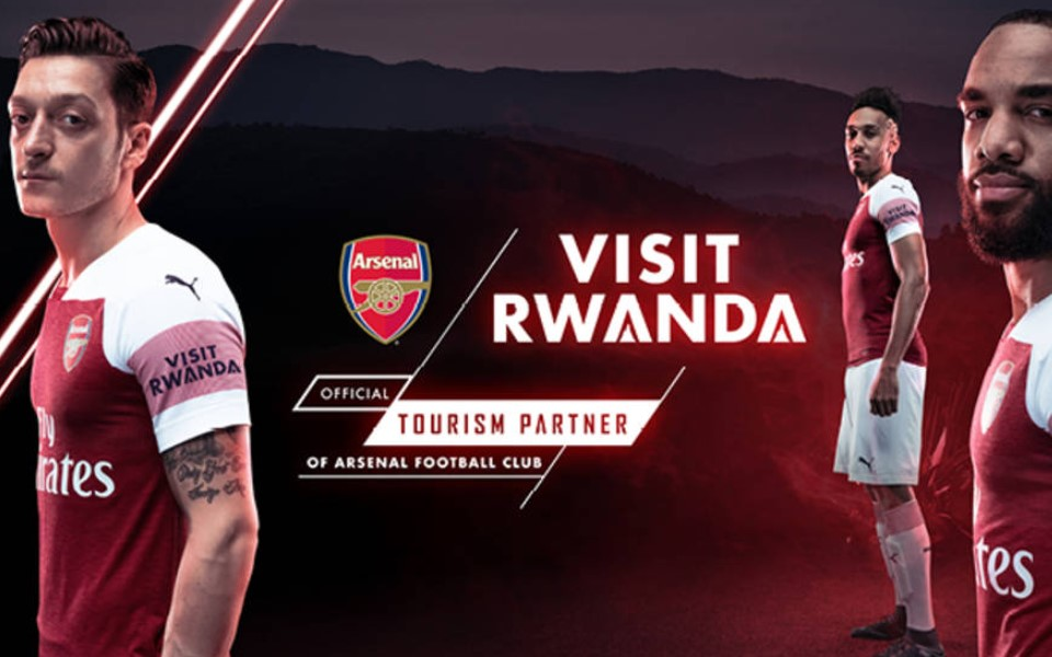 arsenal visit Rwanda was launched officially on August 13th, 2018 at the time when arsenal was opening its fixture at emirates stadium. The launch was attended by officials from the Rwanda Development Board who included the chief executive officer of Rwanda Development Board